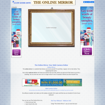 theonlinemirror com at WI  The Online Mirror - Free Web