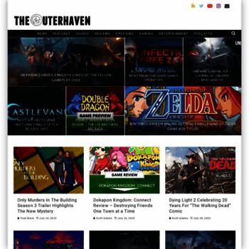 Theouterhaven.net thumbnail