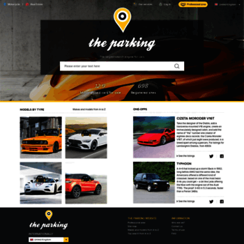 Theparking-cars.co.uk thumbnail