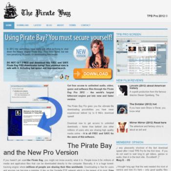 Thepiratebaypro.org thumbnail