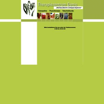 Therapiezentrum-denis.de thumbnail