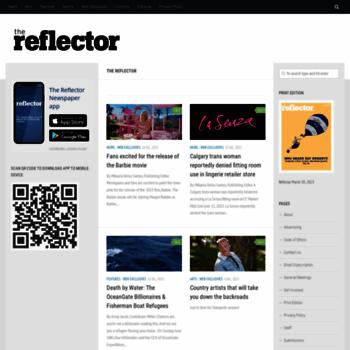 Thereflector.ca thumbnail
