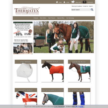 Thermatex Co Uk At Wi Horse