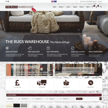 Therugswarehouse Co Uk At Wi Rugs Modern Shaggy