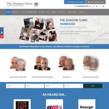 Theshadowclinic.co.nz thumbnail