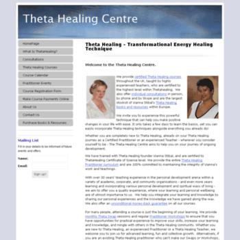Thetahealingcentre.co.uk thumbnail