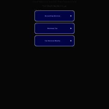 Thetaxforum.co.uk thumbnail