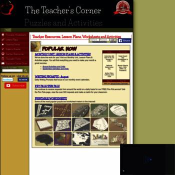 theteacherscorner.net at WI. The Teacher's Corner - Lesson ...
