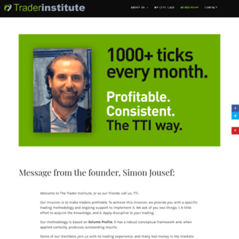 thetraderinstitute com at WI  The Traders Institute | Day