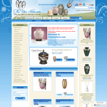 theurnstore com at WI  Cremation Urns, Urns For Ashes
