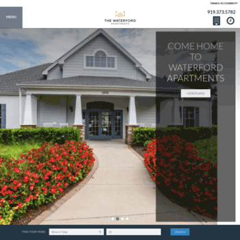 thewaterford-apts.com at WI. The Waterford   Apartments in ...