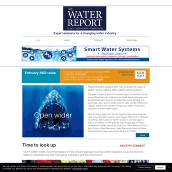 Thewaterreport.co.uk thumbnail