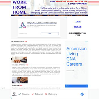 theworkfromhome org at WI  work from home without investment or any