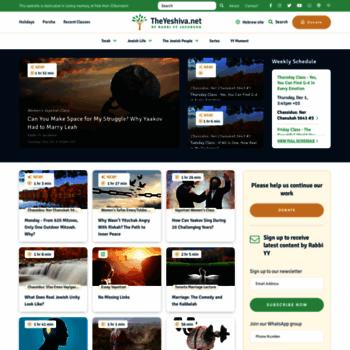Theyeshiva.net thumbnail