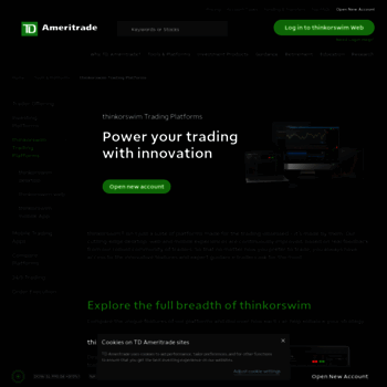 thinkorswim com at Website Informer  Visit Thinkorswim