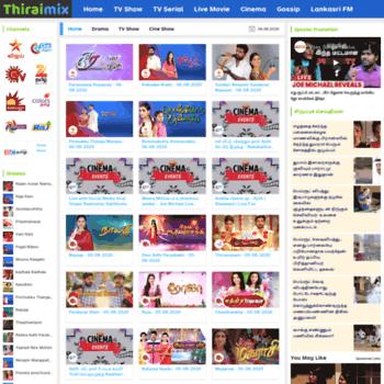 thiraimovie com at WI  Thirai Mix | Thirai Video - Tamil Live Movies