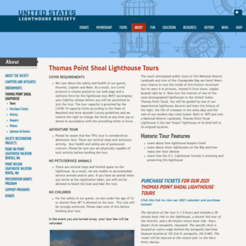 Thomaspointlighthouse.org thumbnail