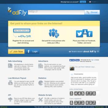 threadsphere.bid at WI. AdFly - The URL shortener service that pays