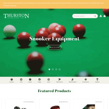 Thurston.co.uk thumbnail