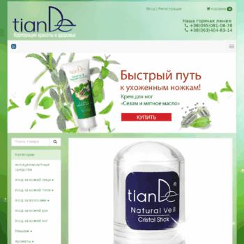Tian-de.com.ua thumbnail
