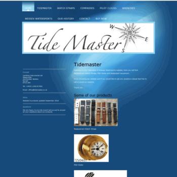 Tidemaster.co.uk thumbnail