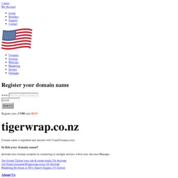 Tigerwrap.co.nz thumbnail