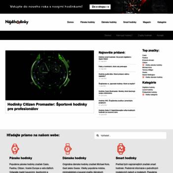 Tiktakhodinky.sk thumbnail