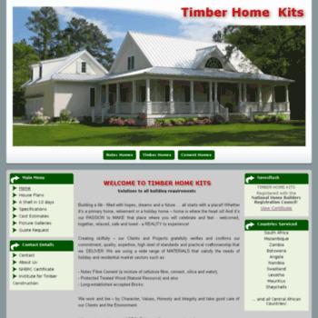 Timberhomekits.co.za thumbnail