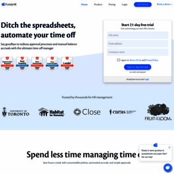 Timeoffmanager.com thumbnail