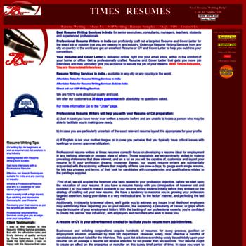 Timesresumes.com thumbnail