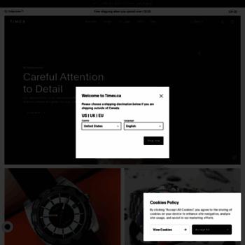 Timex.ca thumbnail