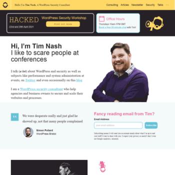 Timnash.co.uk thumbnail