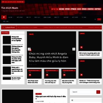 Веб сайт tinvietnam.org