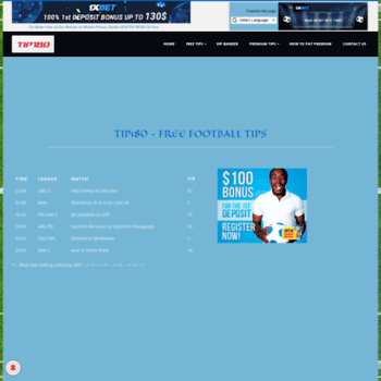 tip180 com at WI  Tip180 Online Community Forum - Football