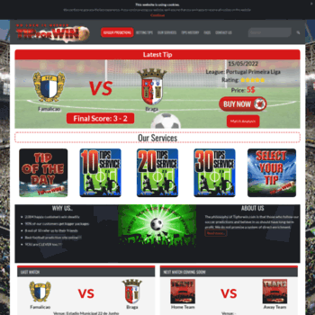 tipforwin com at WI  Best Soccer Predictions Site For
