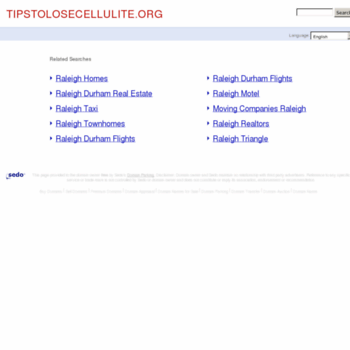 Tipstolosecellulite.org thumbnail