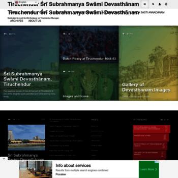 Tiruchendur.org thumbnail