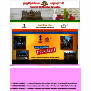 tirunelvelicorporation com at WI  Welcome to Tirunelveli City