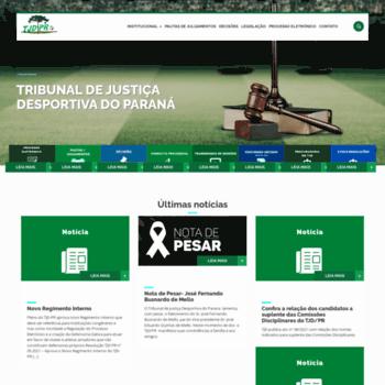 Tjdpr.com.br thumbnail