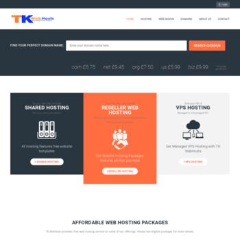 Tkwebhosts.co.uk thumbnail