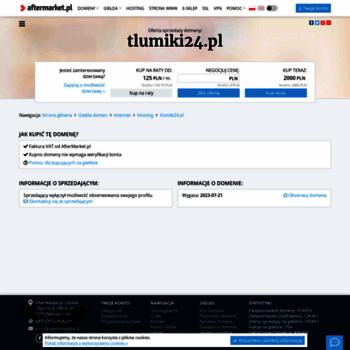 Tlumiki24.pl thumbnail