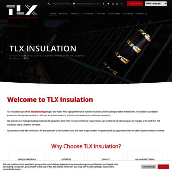 Tlxinsulation.co.uk thumbnail