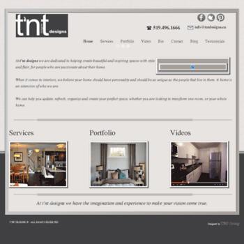 Tntdesigns.ca thumbnail