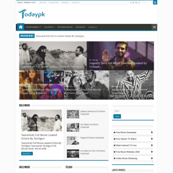 todaypk co in at Website Informer  Visit Todaypk