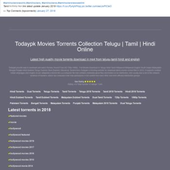 todaypk work at WI  Todaypk online Movies Torrents and Watch Telugu