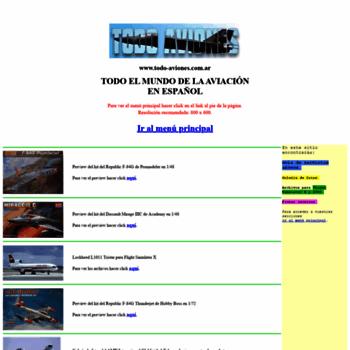 Todo-aviones.com.ar thumbnail