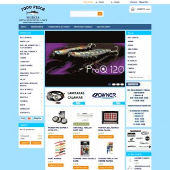 Todopescanet At Wi Wwwtodopescanet Tienda De Pesca Online