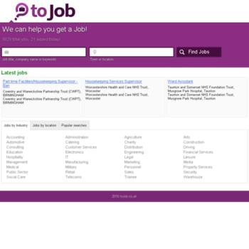 Tojob.co.uk thumbnail