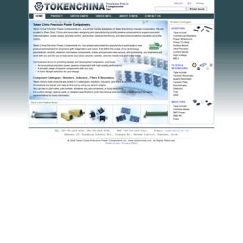 tokenchina com at WI  Precision Resistors , Power Inductors