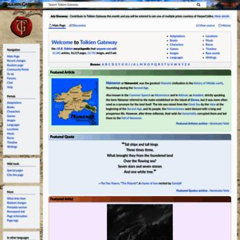 Tolkiengateway.net thumbnail